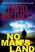 No Mans Land John Puller Series by David Baldacci Hardcover Book Bestselling