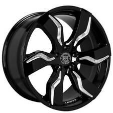 "(4) 26x10"" Lexani Zagato Gloss Black Wheels (6x139/135, +30mm) (B17)"