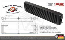 Front Mount Oil Cooler PORSCHE 930 911 RS Auxiliary Center Mount Spoiler -16AN