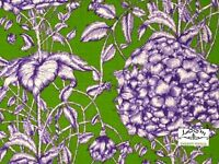 RPG175  STUNNING Exotic Tropical Rainforest Floral Toile Cotton Quilt Fabric