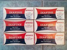 Diafine Two Bath Film Developer Sealed boxes Darkroom Chemicals Lot of 6