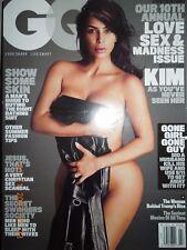 KIM KARDASHIAN NUDE gq 2016 LOVE SEX & MADNESS secret swingers society NO LABEL