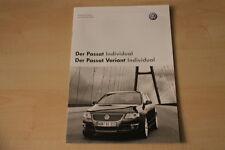 68567) VW Passat + Variant Individual - technische Daten & Ausstattungen - Prosp