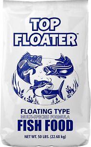 Sunshine Mills Top Floater Premium Floating Fish Food 50 lbs.