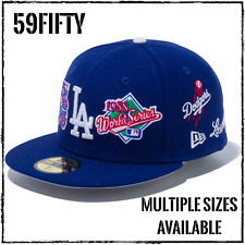 New Era 59Fifty Fitted Cap Los Angeles Dodgers Dark Royal World Series LAD MLB