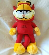 "Garfield The Cat Plush Animal Red Devil Costume Hot Stuff 14"" Tall Play by Play"