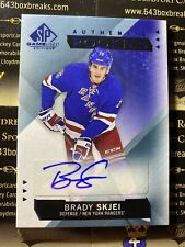 Brady Skjei 15-16 SP Game Used  Authentic Rookies Autograph