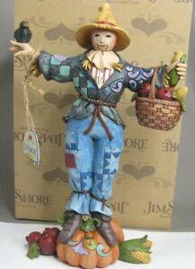 "Jim Shore Heartwood Creek, ""Welcome Harvest Friends"" Harvest Scarecrow #4034442"