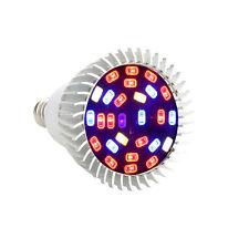 Full Spectrum 18W E27 18 LED Grow Light Veg Flower Indoor Hydroponic Plant Lamp