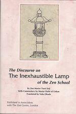 THE DISCOURSE ON THE INEXHAUSTIBLE LAMP OF THE ZEN SCHOOL  Zen Master Torei Enji
