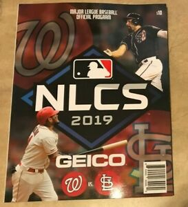 2019 NLCS National League Championship Program Nationals NEW shipped in box