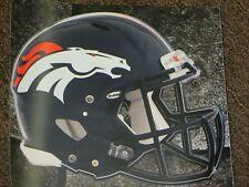 "DENVER BRONCOS HELMET NFL Fathead Wall Graphics 11"" x 9""  (Poster/Sticker)"