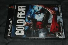 Cold Fear PlayStation 2 PS2 New Sealed Black Label