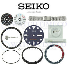 Crystal Crown Gasket Spring Hands Band Seiko Skx007 Skx009 Skx173 Dial Bezel