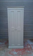 Pine farrow and ball painted kitchen larder unit spice racks/made to measure