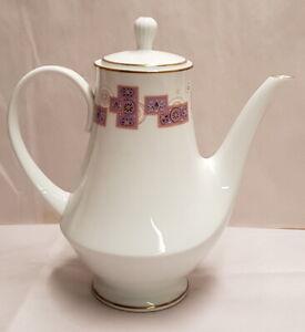 Retro Noritake China RC Royal Crockery Mark Rita Coffee Pot c1973-76 Pn440 Japan