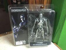 2010 NECA Terminator 2 Judgement Day T-800 ENDOSKELETON Figure MOC - AUTHENTIC