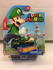 Luigi * 2017 Hot Wheels SUPER MARIO Character Cars