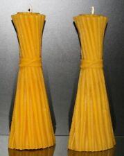 Runde Deko-Kerzen & -Teelichter mit Honig-Aroma