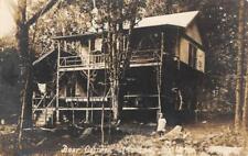 RPPC Bray Cottage, Monson, Maine ca 1910s Vintage Real Photo Postcard