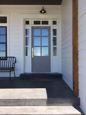 6 LITE CRAFTSMAN ENTRY DOOR WITH SIDE LITES