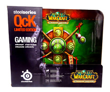SteelSeries World of Warcraft arrabbiato of Pandaria CREST SCIVOLO Tappetino per mouse QcK