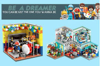 DIY Mini Future Dreamers Career Toy Building Blocks Bricks Model Action Figure