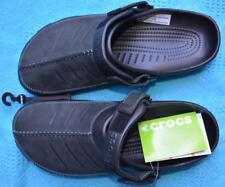 BLACK Crocs Comfort Design. Genuine Men Yukon MESA Clogs Size M12 NEW rrp$69.99