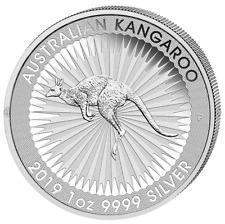 Silber Känguru 2019 1 OZ Silver Argent Kangaroo Australien Autralia Australie