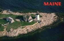 Hendrick's Head Light, Boothbay Harbor Region, Maine, 1829 - Lighthouse Postcard