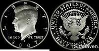 2007 S 90% Silver Kennedy Half Dollar Deep Cameo Gem Proof