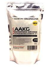250g (8.8 oz) 100% AAKG POWDER L-ARGININE ALPHA-KETOGLUTARATE PHARMACEUTICAL USP