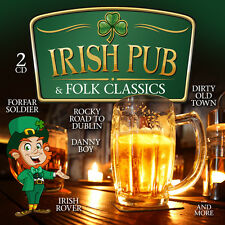 CD Irish Pub And Folk Classics von Various Artists    2CDs incl Song For Ireland