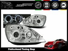 FARI ANTERIORI HEADLIGHTS LPFO08 FORD FIESTA MK6 2002 2003 2004 2005 ANGEL EYES