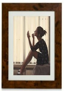 Only the Deepest Red Framed Print  by Jack Vettriano