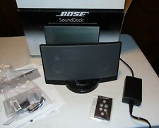 Bose SoundDock ~Digital Music System With 30GB A1136 iPOD TESTED GREAT ~ Black