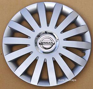 "4x14"" wheel trims, Hub Caps, Covers to fit Nissan Micra,Almera,Note,Pixo"