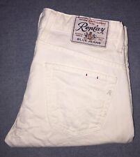 Replay Jeans Uomo Bianco Tg 30(44)