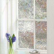 3D No Glue Static Removable Home Decorative Privacy Window Films Tinted Clings