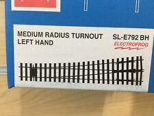 More details for sl-e792 bh left hand medium radius turnout - bullhead profile