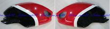 Left + Right Tank cover Fairing Cowl Fit for Ducati Monster 696 796 1100 S EVO