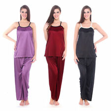 Lace Patternless Nightdresses & Shirts for Women