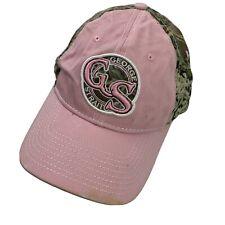 George Strait Cowboy Rides Away Women's Ball Cap Hat Adjustable Pink Camouflage