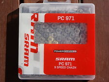 SRAM PC971 9 SPEED ROAD & MOUNTAIN BIKE CHAIN *NEW* X0 X9 X7