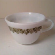 Corelle Daisy Spring Blossom Green Cups Mugs set of 5