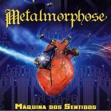 METALMORPHOSE: Maquina Dos Sentidos CD Epic Power Metal Brazil Maiden Priest