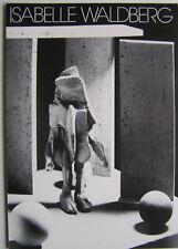 ISABELLE WALDBERG  - Carton d invitation - 1983