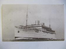 Pacific Line 'MV Reina del Pacifico' - Vintage Passenger Ship Postcard