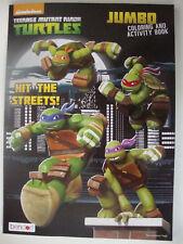 "Teenage Mutant Ninja Turtles Jumbo Coloring & Activity Book "" Hit The Streets ""w"