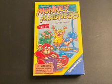 Monkey Madness - Ravensburger 2004 - Complete w/ Replacement Bag - Reiner Knizia